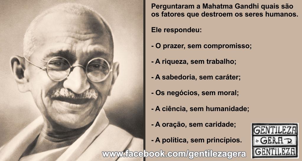 Frases De Gandhi Conhecendo A Biografia Do Grande Líder Mensagens