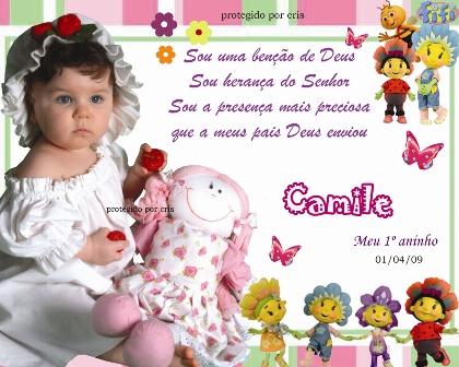 Frases Para Convite De Festa Infantil Mensagens Cultura Mix