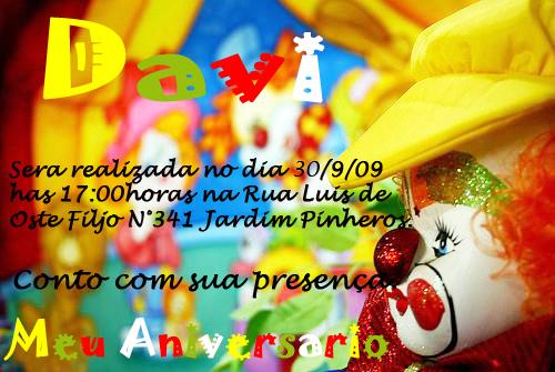 Mensagem Aniversario Infantil Lembrancinhas E Foto Mensagens