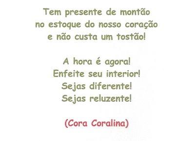 Poema Cora Coralina