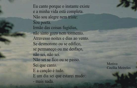 Cecília Meireles Poesias