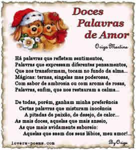 Poesia para Namorado