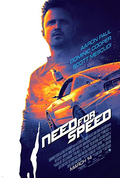 Capa do Filme Need For Speed