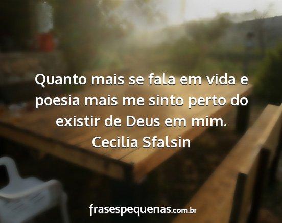 Frase de Cecilia Sfalsin